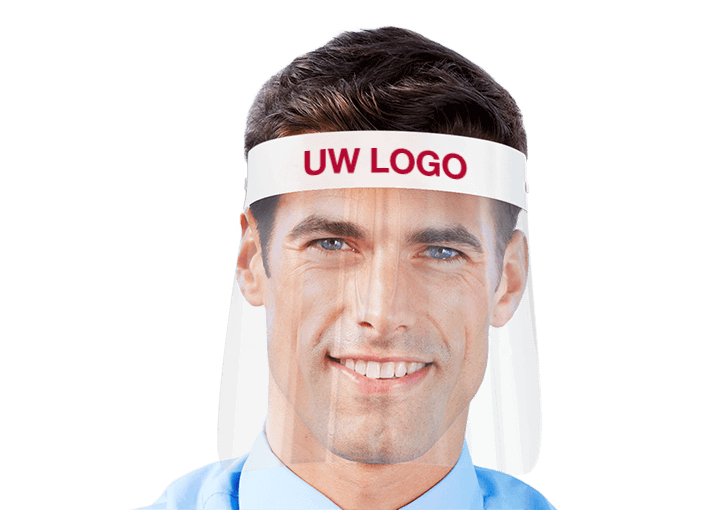 Barrier - Face Shield with Logo